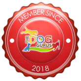 Membership Badge 2018 The Dog Gurus